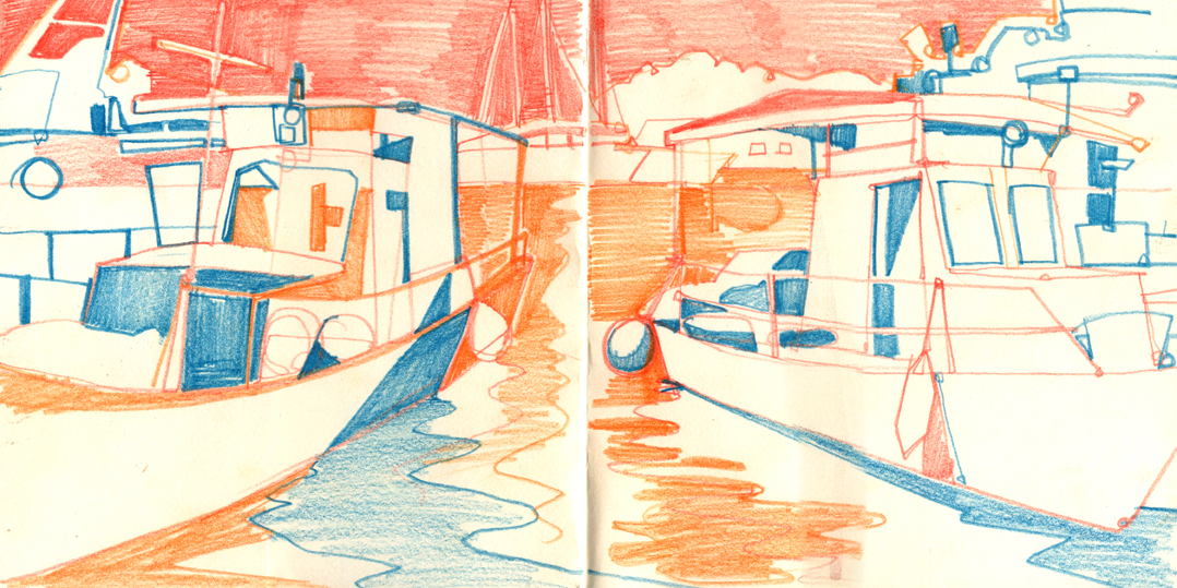 boat drawing 2
